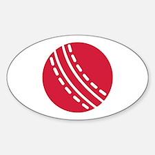 Cricket ball Decal