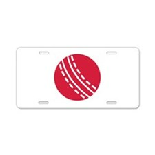 Cricket ball Aluminum License Plate