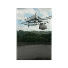 Arecibo Observatory Rectangle Magnet