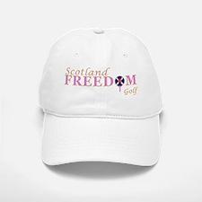 Saltire Golf Scotland Pink Tartan Baseball Baseball Cap