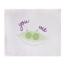 You And Me Throw Blanket