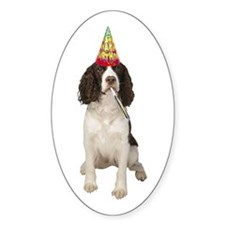 Springer Spaniel Birthday Party Decal