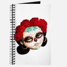 El Dia de Los Muertos Girl Journal