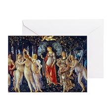 Botticelli: La Primavera Greeting Card