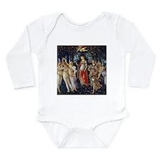 Botticelli: La Primave Long Sleeve Infant Bodysuit
