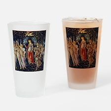 Botticelli: La Primavera Drinking Glass