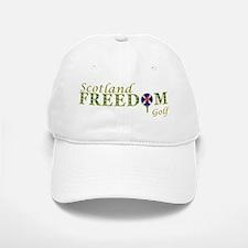 Saltire Golf Scotland Green Tartan Baseball Baseball Cap