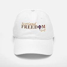 Scotland Freedom Golf Red Tartan Baseball Baseball Cap