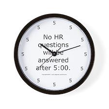 Cute Be human Wall Clock
