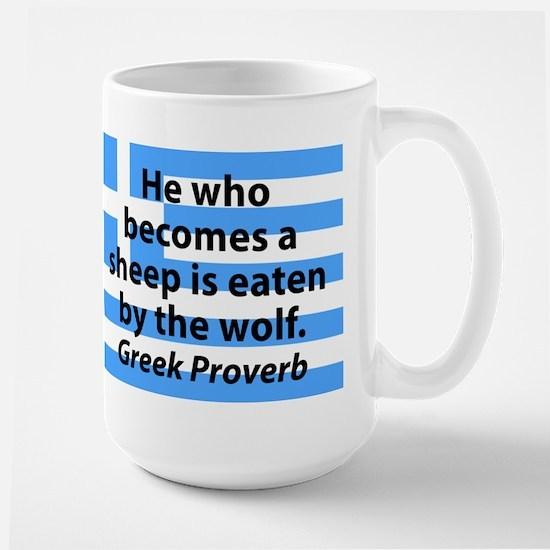 He Who Becomes A Sheep Mugs