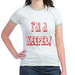 I'm a keeper Jr. Ringer T-Shirt