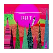 RRT 3 Tile Coaster