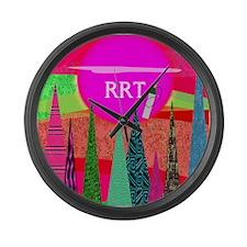 RRT 3 Large Wall Clock