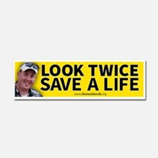 Look Twice Save a Live...Remembe Car Magnet 10 x 3