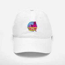 Rocket Pink Baseball Baseball Cap