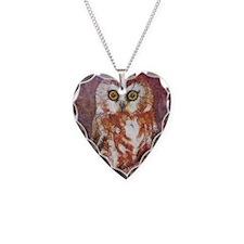 Cute Owl triangle Necklace
