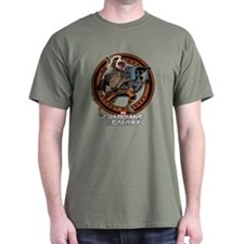 Rocket Attack Round T-Shirt