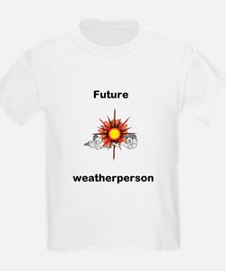 Bright Stars Future Weather Kids T-Shirt