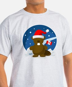 Canadian beaver t shirts shirts tees custom canadian for Personalized t shirts canada