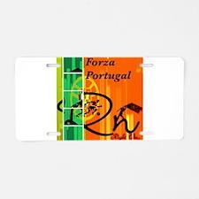 Cute Ronaldo Aluminum License Plate