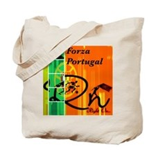 Cute Soccer brazil kids Tote Bag