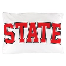 State - Jersey Pillow Case