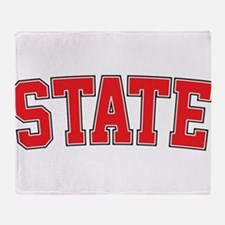 State - Jersey Throw Blanket