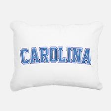 North Carolina - Jersey Rectangular Canvas Pillow