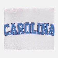 North Carolina - Jersey Throw Blanket