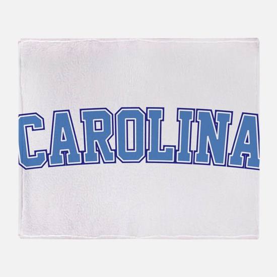 North Carolina - Jersey Throw Blanket