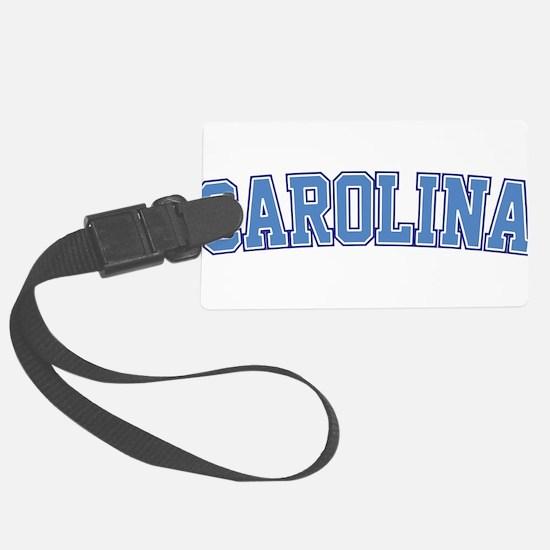 North Carolina - Jersey Luggage Tag