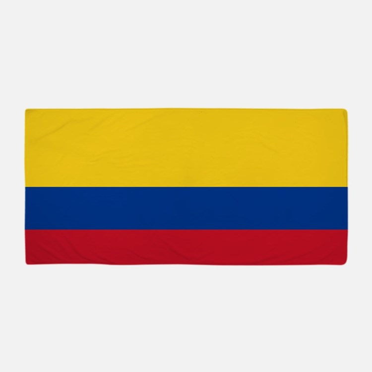 pool towel colombian flag beach towels pool towels kids beach towel