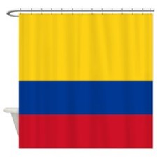 Flag Of Colombia Shower Curtain