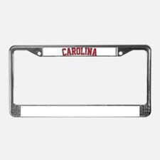 Carolina Jersey VINTAGE License Plate Frame