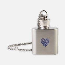New York Heart Flask Necklace