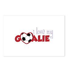 Love My Goalie Postcards (Package of 8)