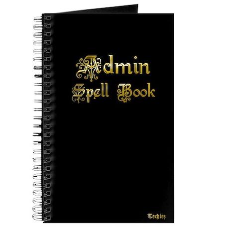Admin Spell Book [Notebook]