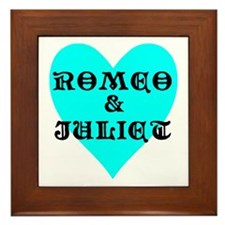 Unique Romeo Framed Tile