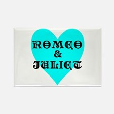 Unique I love romeo Rectangle Magnet