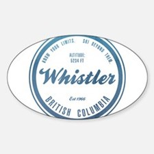 Whistler Ski Resort British Columbia Decal