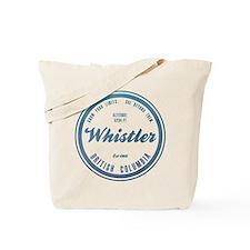 Whistler Ski Resort British Columbia Tote Bag