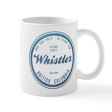 Whistler Ski Resort British Columbia Mugs