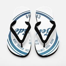 Telluride Ski Resort Colorado Flip Flops
