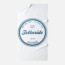 Telluride Ski Resort Colorado Beach Towel