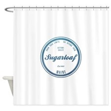 Sugarloaf Ski Resort Maine Shower Curtain