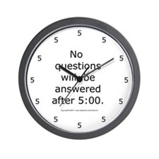 Cool Fmla Wall Clock