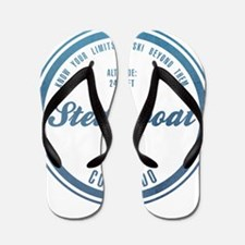 Steamboat Ski Resort Colorado Flip Flops