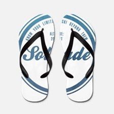 Solitude Ski Resort Utah Flip Flops