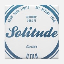 Solitude Ski Resort Utah Tile Coaster