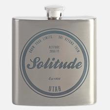Solitude Ski Resort Utah Flask